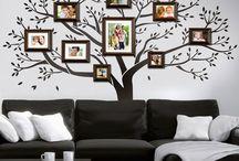 pareti decorate