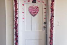 Valentine's Day Dorm Decor/Goodies