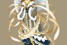 křížek andělé