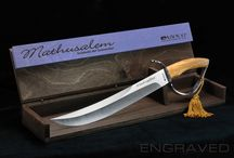 Mathusalem Sciabola del Sommelier /   There are two versions, one with a steel blade and a limited edition in Damascus steel, both delivered with a wooden show case. - See more at: http://sonomachampagnesabres.com/product/mathusalem-sciabola-del-sommelier/#sthash.WgHFIHLe.dpuf