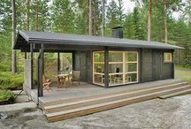 Tiny summer cabin alias Mikromökki / Inspiration for our 8 m2 tiny summer cabin
