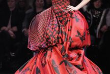 """McQueen The Artist of Cloth  / """"It's a new era in fashion - there are no rules. It's all about the individual and personal style, wearing high-end, low-end, classic labels, and up-and-coming designers all together."""" — Alexander McQueen / by Suzanne Maisonette de Madness"""