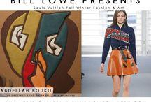 Louis Vuitton Fall Winter Fashion vs. Art Show 2015 / by Bill Lowe Gallery