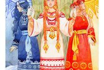 Slavic tarot