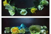 flowery crown