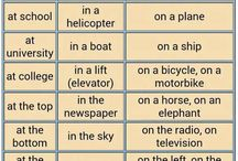 Prepositions and phrases