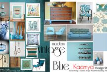 Oh what fun !!! Mood boards are here!!! / Design & Designing is very interesting but sometimes it tends to get complicated, thanks to zillion options of colors, textures, materials in the market. Out of the many things you see around how do you pick one for yourself, for your home your space.We at Kaamya design studio, at start of every project, go through this small exercise of going through different thematic mood boards.