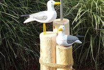 Nautical outdoor garden ideas