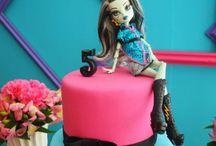Monster Hight cake - Dortíky