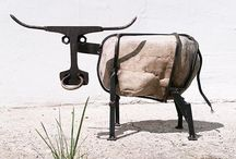 Steel and Stone - Weldet art