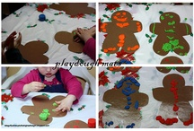 December in Room 1 / Holiday Activities and Crafts for Preschoolers  / by Corey Thompson