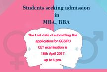 MBA nd BBA admission
