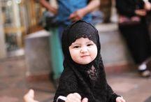 Baby muslim cute