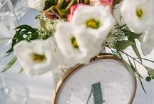 ❦ Mariage : décoration de table ❦ / En panne d'inspiration ? Voici quelques idées de décoration de table pour vos invités ! Rien de tel pour épatés vos convives le jour de votre mariage :) / by Nathalie DAOUT - Formatrice