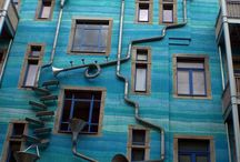 reminds me of Friedensreich Hundertwasser.