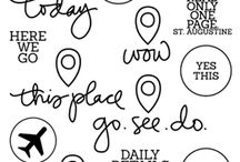 Project Life / Lettering / Rapidograph
