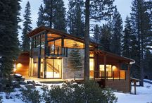 Mountain Modern Exteriors / Just a few of many homes that offer great inspiration for the mountain modern lifestyle