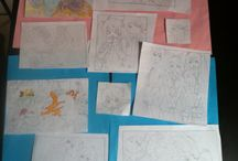 Vocaloid dessins / Ces dessins sont fait par ma fille qui a 10 ans.