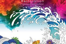 Soul Coats: Restoration Adult Coloring Book / Based on Bible scenes and scriptures. Pin your inspirational creations and share beauty with the community.