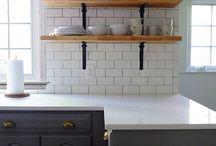 kitchen subway tile grout