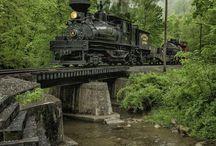 Parní vlaky