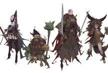 Character design - costume