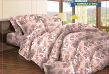 Floral Fiesta / Contemporary floral patterns with geometric designs from #BombayDyeing