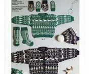 Knitting selbu