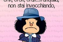 Mafalda & Snoopy docet