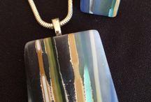 Jewellery (Fused Glass) / Glass-based jewellery