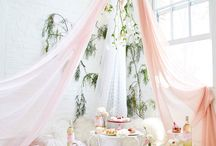 Floral theme party ideas