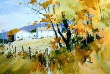 Art landschap
