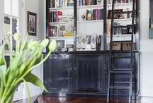Ladders & Library / by Marcy @ ANTIQUECHASE