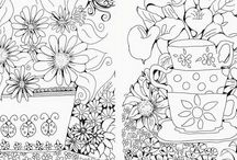 The Daisy Collection / Colouring Books for Adults, Colouring Books for Grownups