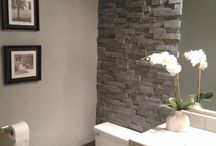 stone look wall
