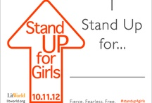 Stand Up For Girls / Stand Up for Girls began in 2011 in recognition of the then unofficial Day of the Girl, reaching girls across the globe. The UN has since sanctioned October 11 as the annual International Day of the Girl. This year LitWorld is leading a SUFG worldwide campaign and rallying our network of literacy champions to advocate for every girl's right to education. The campaign will culminate on Oct. 11th with SUFG events and online rallies. 