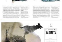Layout for reportage