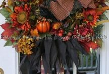 Fall decor / by Alicia Wyrick Warner