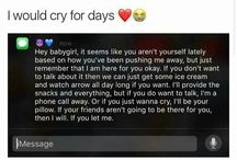 Cry for days