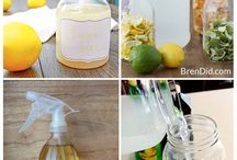 DIY Cleaning Recipes / Homemade Non-Toxic Cleaning Recipes.