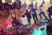 Youth lock-in games