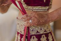 Wedding outfits and jewellery