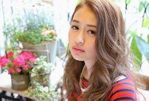 Haruka's hairstyle 美人キレイめ