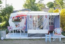 Glamping / Campers, places to camp, camper redos, camping in style, fabulous tents / by Allie Reiter