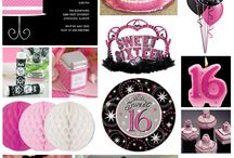 Sweet 16 Party Ideas / by April Knoblett