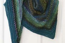 strikke sjaler