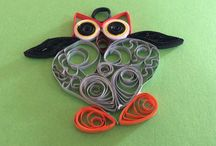 Quilling moje prace