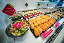 Mongo Sushi Spot / Η φιλοσοφία της ready to eat food εμπλουτίζεται με το καινούργιο επιχειρηματικό βήμα  της επιτυχημένης στο χώρο της μαζικής εστίασης, εταιρίας Mongo, τα Mongo Sushi Spots.