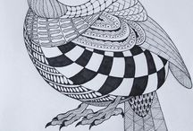 Vogel / Vlakverdeling