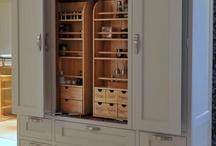 Larder cupboards